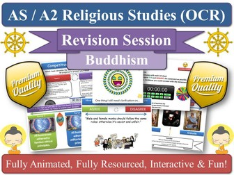 The Buddha - AS Revision Session for KS5 OCR RS [ Buddhist Thought ] Life Teachings Siddhartha