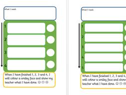 Task board/checklist - editable