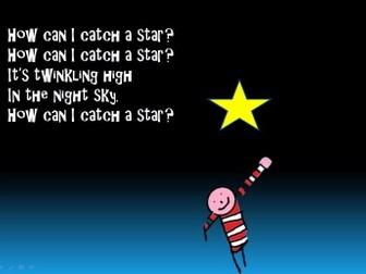 """Sing,play,and draw to music inspired by the book """"How to catch a star """" by Oliver Jeffers"""