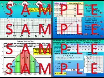 Statistics - Chapters 20 and 21 - International Baccalaureate - Standard Level