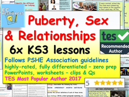 Puberty / Relationships + Sex Education