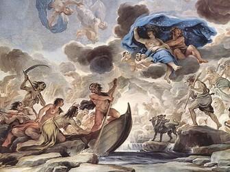 Greek Myth Week 1: Introduction to the Greek Gods