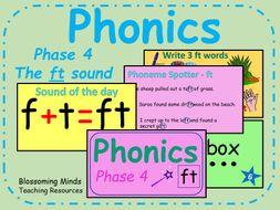 Phonics phase 4 - The 'ft' sound - Consonant blends