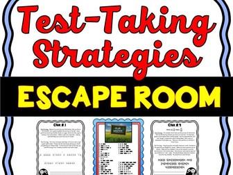Test Taking Strategies Escape Room - No Prep!