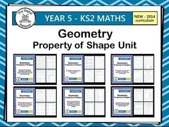 Year 5 - Geometry - White Rose - Summer - Block 2 - Week 5-7 - Property of Shape
