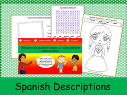 KS1 Spanish Descriptions: Lesson 2