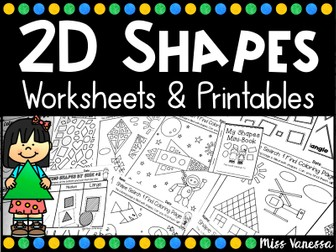 2D Shapes Worksheets And Printables