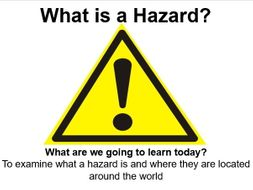 IGCSE Edexcel Geography - Hazardous Environments - What is a Hazard and where are they located?