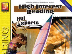 Hot Sports: High-Interest Reading