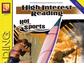Hot Sports: High-Interest Reading