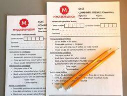 GCSE AQA Science  2020 PREDICTED PAPER Bundle