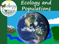 Ecology and Populations Crossword and Word Search