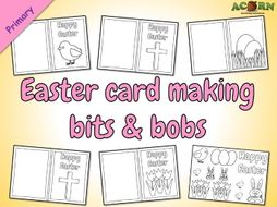 Easter card making bits & bobs