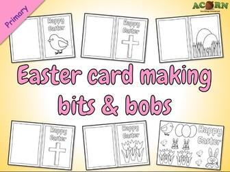 Easter card making bits & bobs