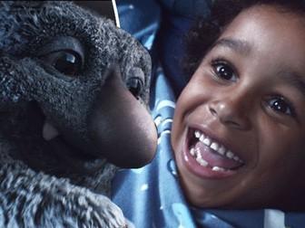 English / Literacy Recount - Moz the Monster (John Lewis Christmas Advert 2017)