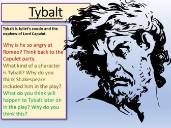 Romeo and Juliet - Tybalt Act 3 Scene 1