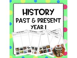 Past and Present History Year 1
