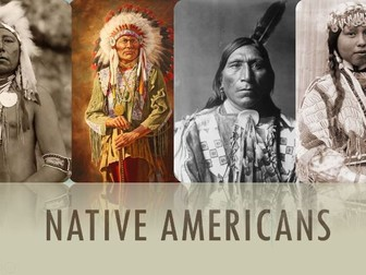 Native American life Powerpoint