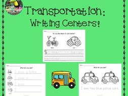 Transportation writing centers