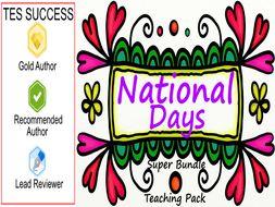 National Days Bundle - Part 1