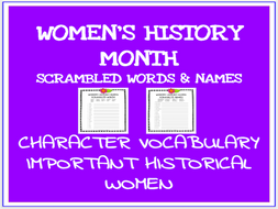 women s history month printables