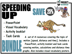 Speed, Distance and Time Bundle [Speeding Up]