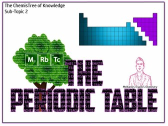 The Periodic Table Powerpoint and Workbook - GCSE 2016