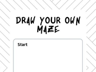 Draw your own maze
