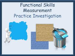 Measurement Investigation Practice - Decorating a room - Functional Skills L1