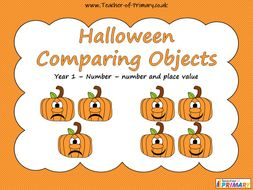 Halloween Comparing Objects