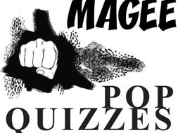 MANIAC MAGEE 13 Pop Quizzes Bundle