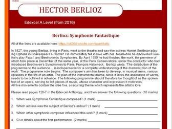Edexcel Music A Level (2016-) Hector Berlioz