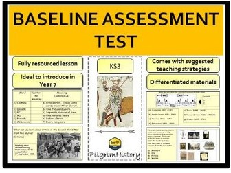 Baseline History Assessment Test