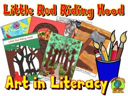 Storytelling With Art - Little Red Riding Hood