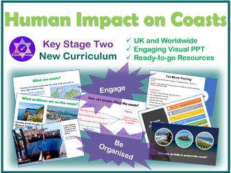Human Impact on Coasts KS2 Geography
