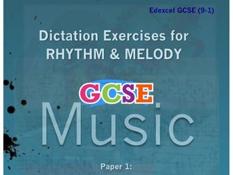 DICTATION - RHYTHM & MELODY PAPER #1 [CLASSICAL MUSIC]
