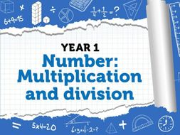 Multiplication and Division: Year 1 - Summer Term - White Rose Maths