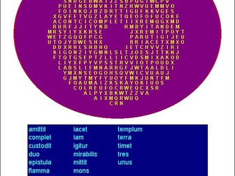 500 Latin Wordsearches Word Searches Cambridge Latin Course