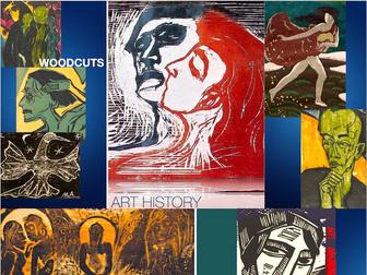 Woodcut Art ~ Printing ~ Art History ~ from Albrecht Durer to Chuck Close