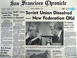 Image result for soviet union dissolves