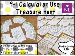 9-1 Efficient Calculator Use (Treasure Hunt)