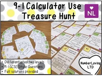 9-1 Efficient Calculator Use (Treasure Hunt)