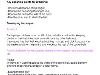Basketball Manual - TGFU Approach
