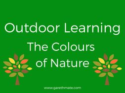 outdoor learning basic lesson plan template by gm8ty30 teaching