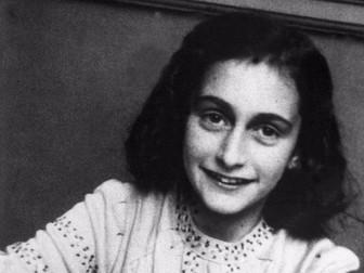 Anne Frank Diary comprehension KS2