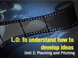BTEC Level 2 Creative Digital Media Production Unit 2