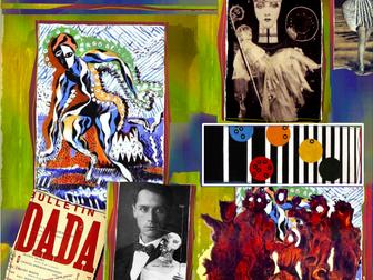 DaDa ~ Art History ~ Avant-Garde ~ Modern ~ Mixed Media ~ Art ~ 155 Slides
