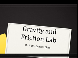 Gravity and Friction (Air Resistance) Lab - BUNDLE