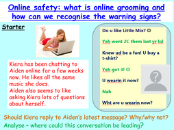 Online Grooming - Relationships and Sex Education RSE