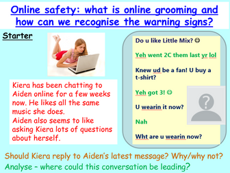 Internet Safety : Online Grooming